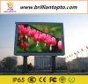 Tabellone per le affissioni esterno della visualizzazione di LED della pubblicità