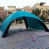 팽창식 돔 천막 (IT-0121)를 광고하는 파랑