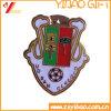 Emblema macio do Pin da porca do esmalte para o presente da decoração (YB-LP-56)