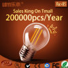 G45 2W/4W 220V E14/E27 최신 Sale 에너지 Saving Lighting LED Filament Bulb