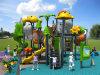Kaiqiの中型動物のテーマの子供の屋外の運動場装置(KQ50070A)