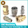 CNC por encargo de la alta precisión que da vuelta y que muele al adaptador hidráulico