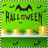 PVC 벽 스티커 까만 박쥐 Halloween 선물 훈장 스티커