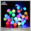 Luz Multicolor da corda da esfera da decoração do Natal do diodo emissor de luz