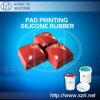 Borracha de silicone líquida para a impressão da almofada
