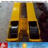 Grande roda conservada em estoque do guindaste do forjamento do aço do bloco 45 da roda do guindaste
