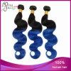Выдвижение волос Ombre тона объемной волны 2 девственницы бразильское