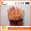 Katoenen van de Bloem van Ddsafety 2017 Achter MiniPunten op de Handschoen van de Tuin van de Palm
