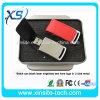 브라운 고품질 가죽 물자에 의하여 주문을 받아서 만들어지는 선전용 USB 2.0 가죽 USB 섬광 (XST-U042)