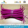 Shinny самая лучшая законченная крепежная деталь поводка талрепа PU пурпуровая спиральная