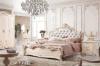 Muebles del dormitorio de madera sólida fijados con el guardarropa, la cama de madera, Nightstand, la tabla de preparación y la silla de la preparación