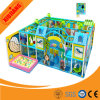 Привлекательное крытое скольжение спортивной площадки лабиринта для детей (XJ5053)