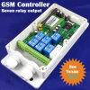 Saída de relé de sete Controlador Remoto GSM