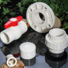 カスタマイズされたカラーPVC白い管および付属品