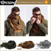 Militärische windundurchlässige Shemagh taktische Wüste arabischer Hijabs Baumwollarabisch-Schal