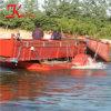 China Última tecnologia Colhedora de infestantes aquáticas Draga para venda