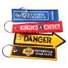 Kundenspezifisches spezielles Grausigkeit-Stickerei-Abzeichen, gesponnener Kennsatz, Stickerei-Änderung am Objektprogramm Keychain (YB-PATCH-411)