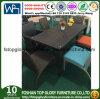Venda a quente de vime Vime cadeira de mesa de jantar Set Mobiliário de exterior