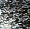 Mosaico negro del shell 5*20 de la fregona del labio