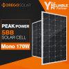 Изготовления панели солнечных батарей Moregosolar 150W 170W Mono сделанные в серии Китая Ml