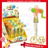 Le lancement du ventilateur en plastique comprimé bonbons jouets surprise
