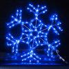 60cm*60cm acrílico de Navidad 2D LED de exterior de la luz de los copos de nieve