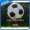 Aerostato gonfiabile dell'elio di gioco del calcio del PVC per gli avvenimenti sportivi