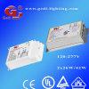 PLC Electronic Ballast para PLC/Pl Fluorescent Lamp, 2X26W