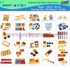Jouets éducatifs Montessori pour enfants (HC-240)