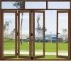 Алюминиевый раздвижной виниловых Складные двери