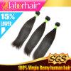 Верхние выдвижения волос девственницы ранга 100% качества 7A бразильские