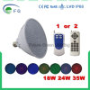 AC110V PAR56 E27 LED Swimmingpool beleuchtet 35W RGB