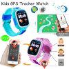 다채로운 스크린 (D15)를 가진 3배 두는 아이 GPS 추적자 시계