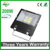 Projector ao ar livre do diodo emissor de luz do preto 200W do projeto com certificações de Ce&RoHS