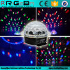 Voice-Activated диско DJ света влияния шарика СИД RGB кристаллический волшебное Party освещение этапа