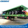 容器輸送のための平床式トレーラーシャーシのトレーラー