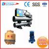 Industrielle Abkühlung-Maschinen-wassergekühltes Schrauben-Kühler-Gerät (KNR-180WS)