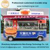 De de snelle Vrachtwagen van het Voedsel Dilivery/Kar van het Voedsel met het Lange Leven van de Dienst