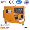 Générateur diesel d'insonorisation avec 5kw (début électrique)