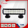 Dubbele Rows 12 '' 4X4 LED Light Bar 72W met IP68, Ce, RoHS voor Jeep, Truck, SUV
