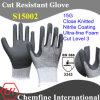15g Super-Thin вязаные рукавицы с Ultra-Fine нитриловые упор для рук с покрытием из пеноматериала/ EN388: 3343