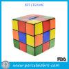Caixa colorida de moedas de cerâmica da Guarda de dinheiro do cubo colorido do Rubik