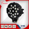 un alto potere LED Work Light di 7  51W New Round