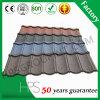 Piedra de los materiales de construcción de aluminio recubierto de tejas techos de metal de hoja de 50 años de garantía