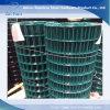 Treillis métallique soudé galvanisé enduit par PVC vert Rolls