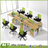 Fabricante de 6 Lugares Desktop Divisores de Escritório