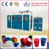 Servomotor controlado automática de láminas de plástico de la máquina de termoformado Copa