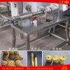 自動フルーツの皮機械パイナップルはピーラーの芯を取り除く