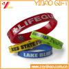 Bracelet fait sur commande de Wristband/de silicones de Whoelsale