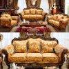 Sofa classique de tissu avec des Modules pour les meubles de salle de séjour (929)